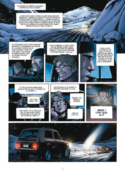 Page 3 le casse tome 1 - diamond