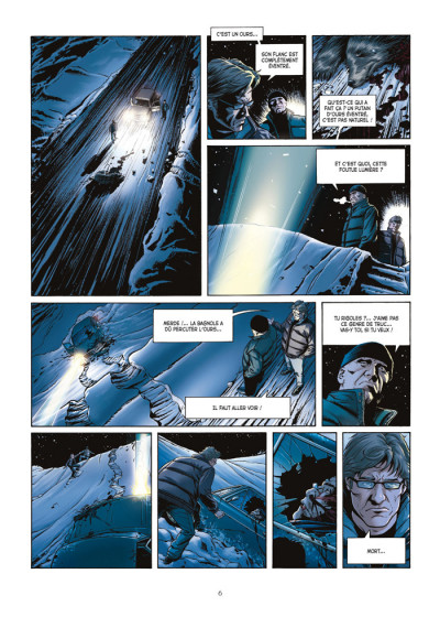 Page 4 le casse tome 1 - diamond