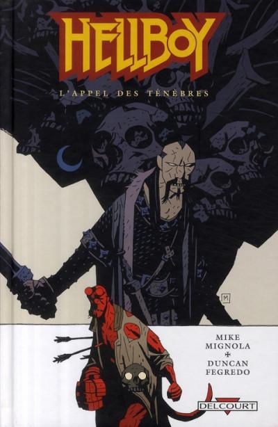 Couverture hellboy tome 9 - l'appel des ténèbres
