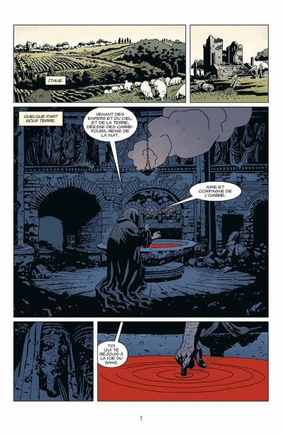 Page 8 hellboy tome 9 - l'appel des ténèbres