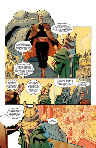 Page 3 star wars - the clone wars ; mission 1 : esclaves de la république