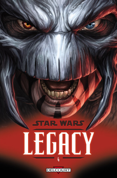 Couverture star wars - legacy tome 4 - indomptable
