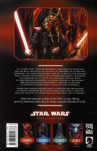 Dos star wars - legacy tome 4 - indomptable