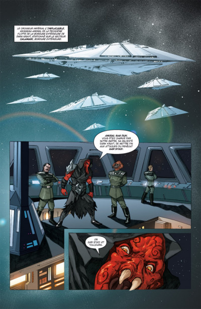 Page 1 star wars - legacy tome 4 - indomptable
