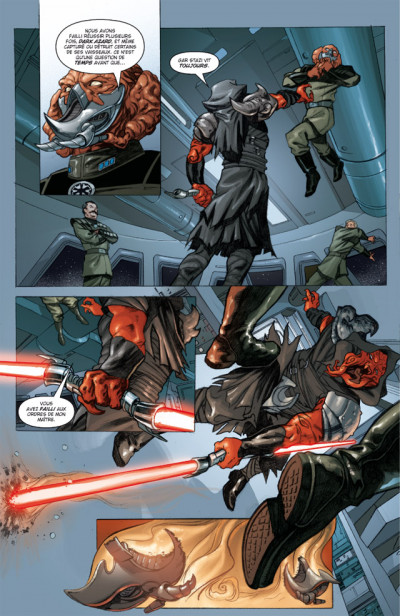 Page 2 star wars - legacy tome 4 - indomptable