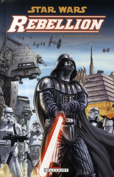 Couverture star wars - rébellion tome 5 - le sacrifice d'ahakista