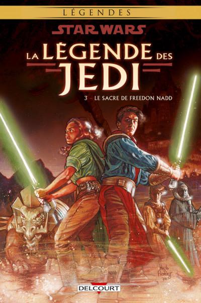 Couverture Star wars - la légende des jedi tome 3