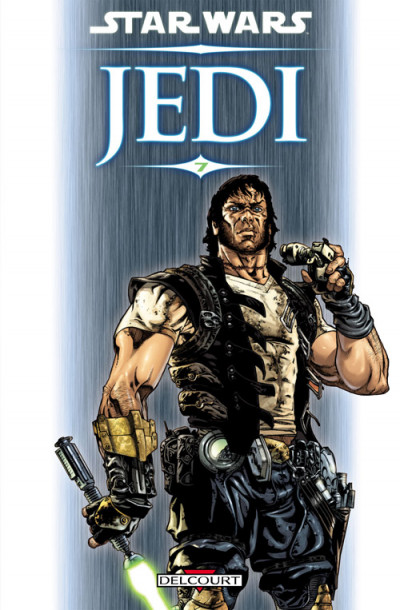 Couverture star wars - jedi tome 7 - nomade