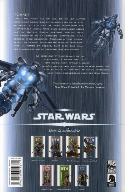 Dos star wars - jedi tome 7 - nomade