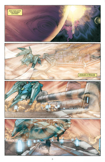 Page 2 star wars - jedi tome 7 - nomade