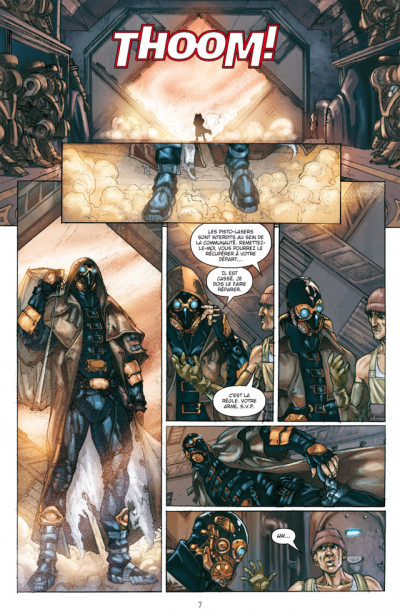 Page 3 star wars - jedi tome 7 - nomade