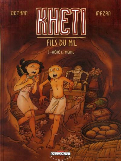 Couverture kheti, fils du nil tome 3 - mémé la momie