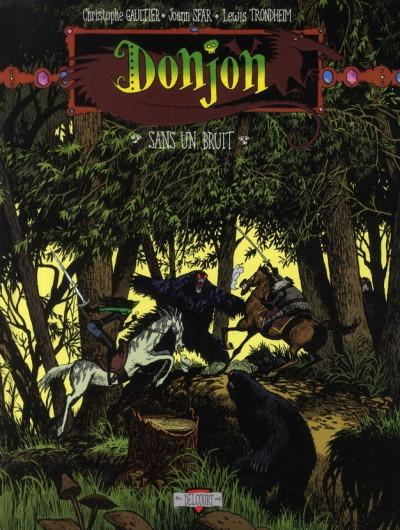 image de donjon potron-minet tome -83 sans un bruit