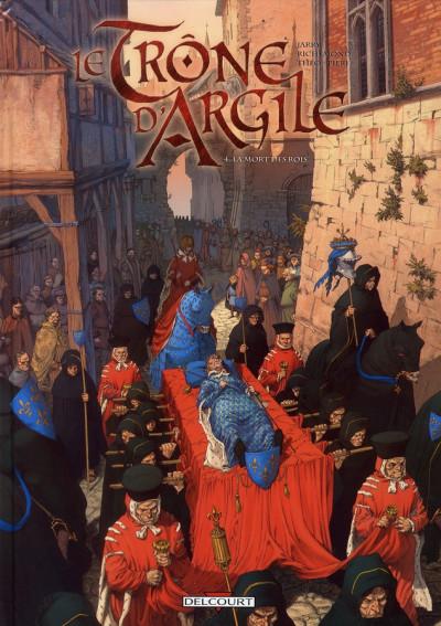 image de le trône d'argile tome 4 - la mort des rois