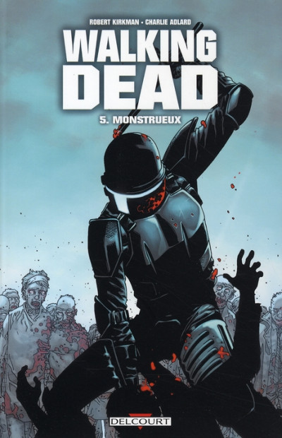Couverture Walking dead tome 5