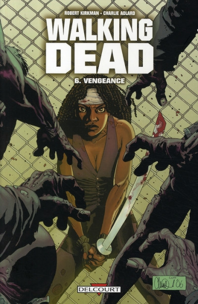 Couverture Walking dead tome 6