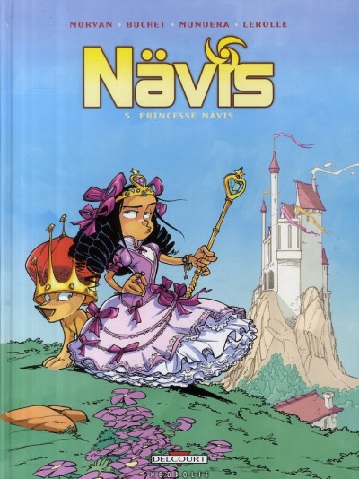 Couverture nävis tome 5 - princesse nävis
