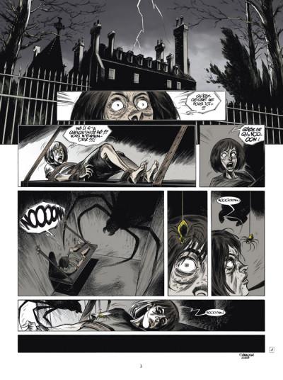 Page 1 testament du docteur m tome 3 - l'origine du mal