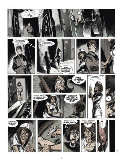 Page 2 testament du docteur m tome 3 - l'origine du mal