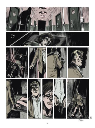 Page 3 testament du docteur m tome 3 - l'origine du mal