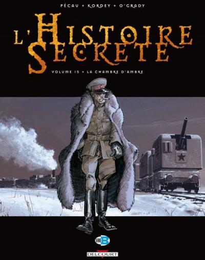 Couverture l'histoire secrète tome 15 - la chambre d'ambre