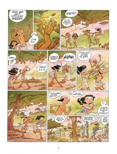 Page 4 kheti, fils du nil tome 4 - le jugement d'osiris