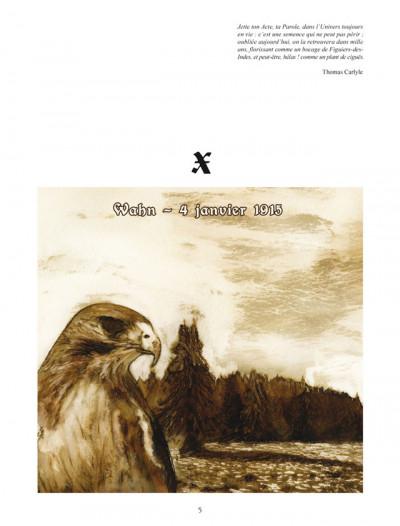 Page 1 Fritz Haber tome 3 - un vautour, c'est déjà presque un aigle...