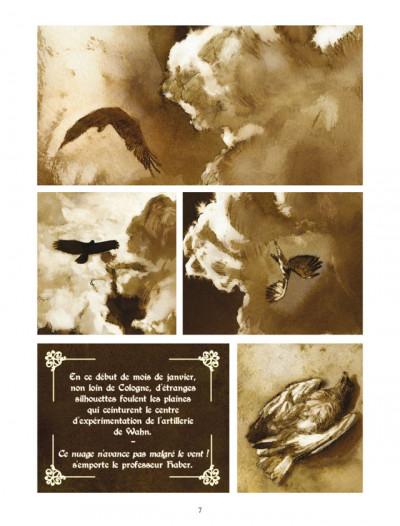 Page 3 Fritz Haber tome 3 - un vautour, c'est déjà presque un aigle...