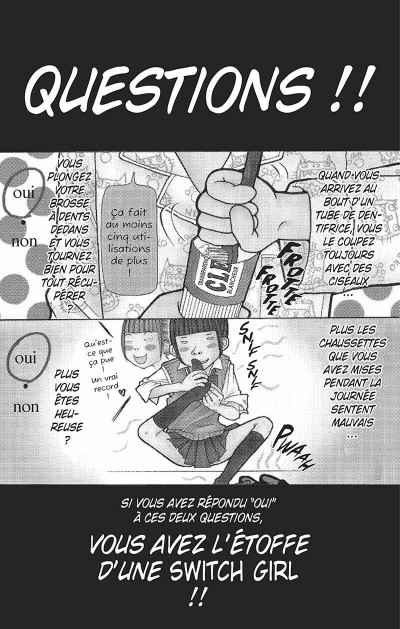 Page 4 switch girl tome 1