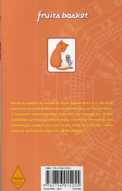 Dos fruits basket - fan book tome 1 - le chat