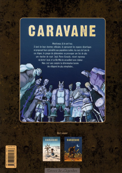 Dos caravane tome 2 - la loi des monstres