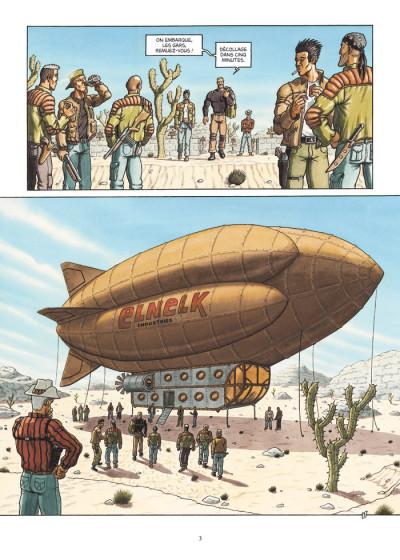 Page 3 caravane tome 2 - la loi des monstres