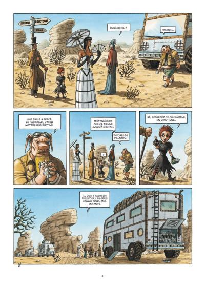 Page 4 caravane tome 2 - la loi des monstres