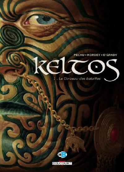 Couverture keltos tome 1 - le corbeau des batailles