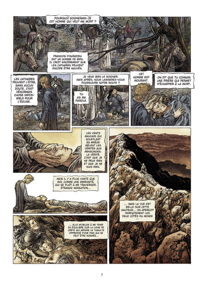 Page 8 je suis cathare tome 3 - immensité retrouvée