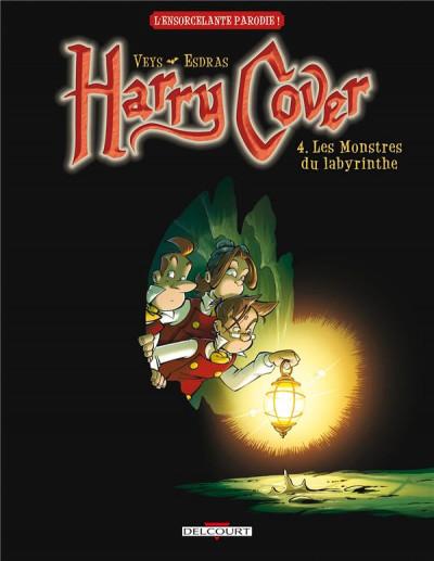Couverture harry cover tome 4 - les monstres du labyrinthe
