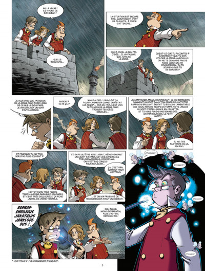 Page 3 harry cover tome 4 - les monstres du labyrinthe