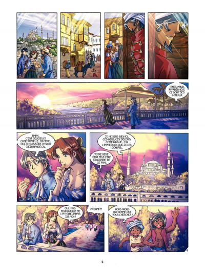 Page 5 La rose écarlate tome 5