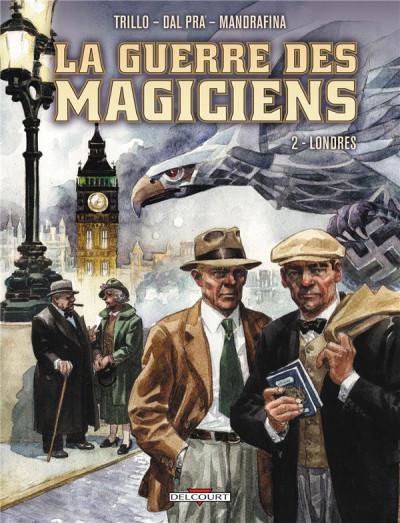 Couverture la guerre des magiciens tome 2 - Londres
