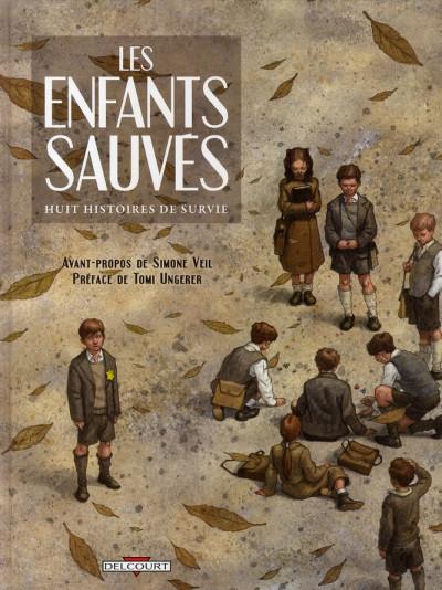 Couverture les enfants sauvés ; huit histoires de survie