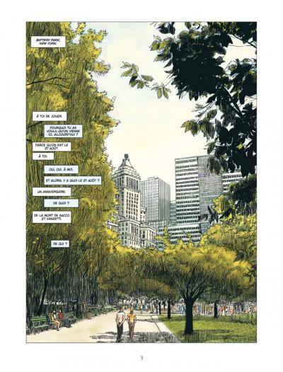 Page 1 american tragedy ; l'histoire de Sacco & Vanzetti