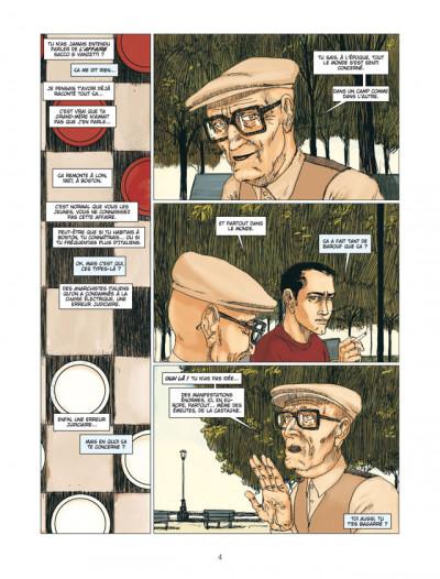 Page 2 american tragedy ; l'histoire de Sacco & Vanzetti