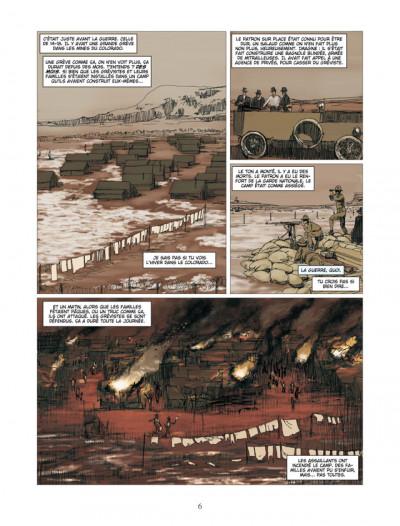 Page 4 american tragedy ; l'histoire de Sacco & Vanzetti