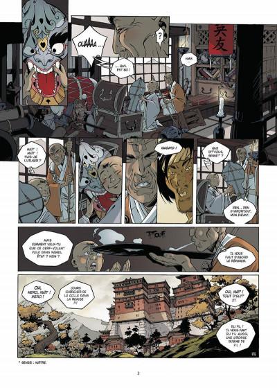 Page 4 okko tome 5 - le cycle de l'air tome 1/2