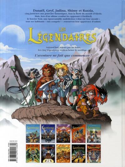 Dos Les légendaires tome 10