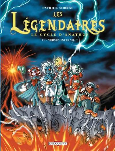 Couverture Les légendaires tome 11