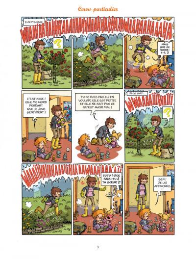 Page 1 les blagues de Toto T.8 - l'élève dépasse le mètre