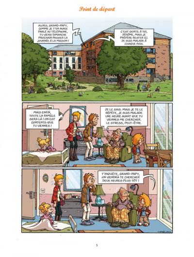 Page 3 les blagues de Toto T.8 - l'élève dépasse le mètre