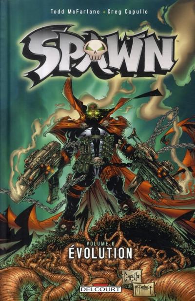 Couverture spawn tome 6 - évolution