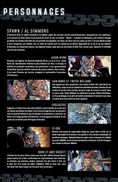 Page 6 spawn tome 6 - évolution